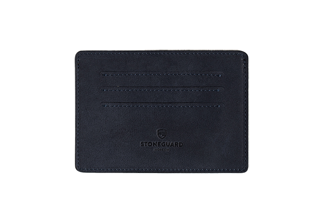 Leather keeper for auto documents