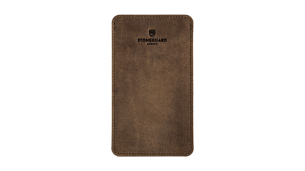 Stoneguard - Leather Sleeve for iPhone 6/6s/7/8 Plus | 511 | Rust - image 1