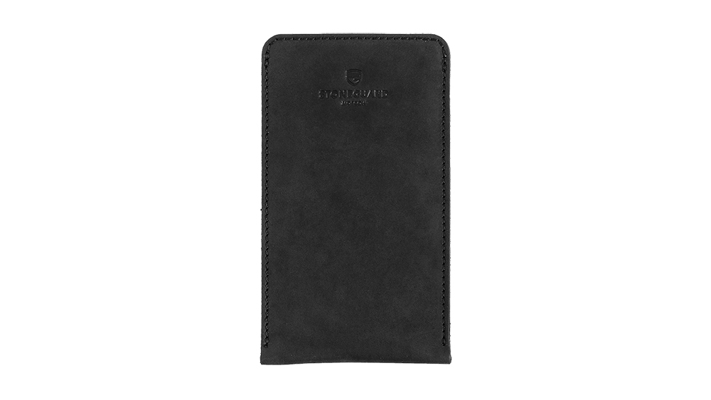 Stoneguard - Leather sleeve for iPhone X/Xs | 512 | Black - image 1
