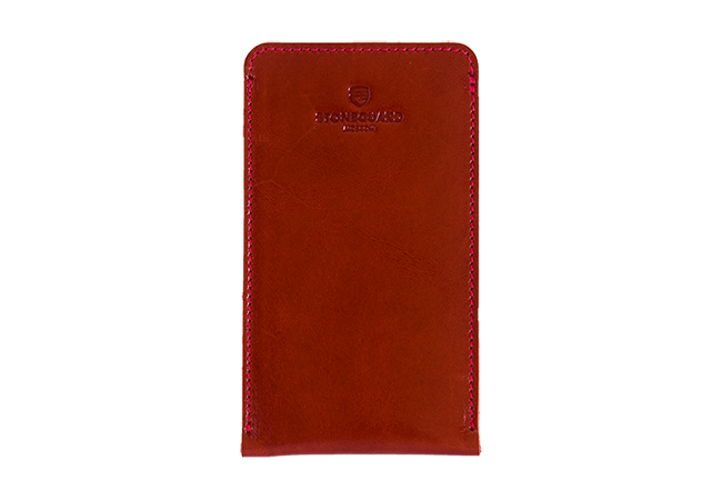 Leather sleeve for iPhone X/Xs | 512 | Red