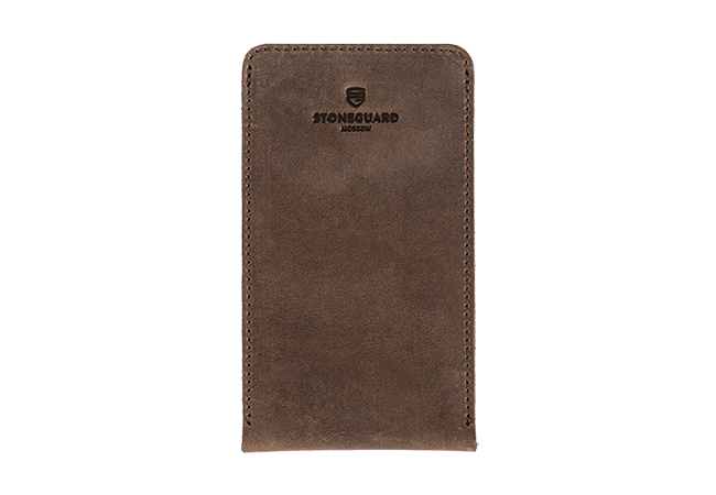 Leather sleeve for iPhone X/Xs | 512 | Rust