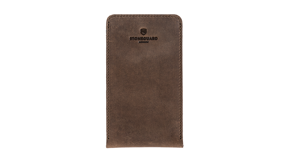 Stoneguard - Leather sleeve for iPhone X/Xs | 512 | Rust - image 1