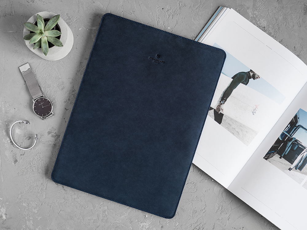 Stoneguard - Leather Sleeve for MacBook 12 | 511 | Ocean - image 2
