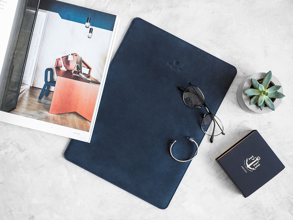 Stoneguard - Leather Sleeve for MacBook 12 | 511 | Ocean - image 3