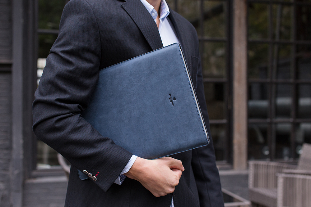 Stoneguard - Leather Sleeve for MacBook 12 | 511 | Ocean - image 4