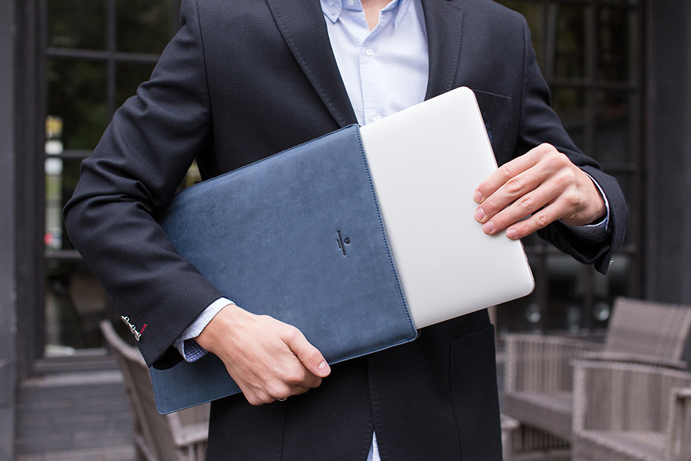 Stoneguard - Leather Sleeve for MacBook 12 | 511 | Ocean - image 5