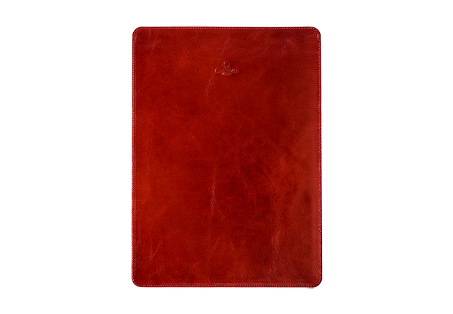 Leather Sleeve for MacBook Pro 13 NEW 2016 | 511 | Red