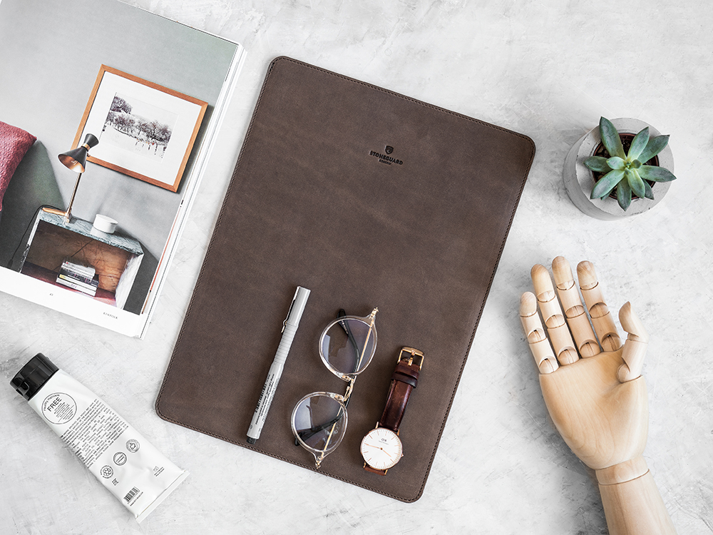 Stoneguard - Leather Sleeve for iPad Pro 9.7 | 511 | Rust - image 3