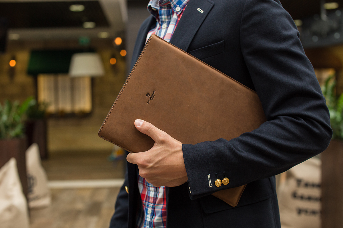 Stoneguard - Leather Sleeve for iPad Pro 9.7 | 511 | Rust - image 4