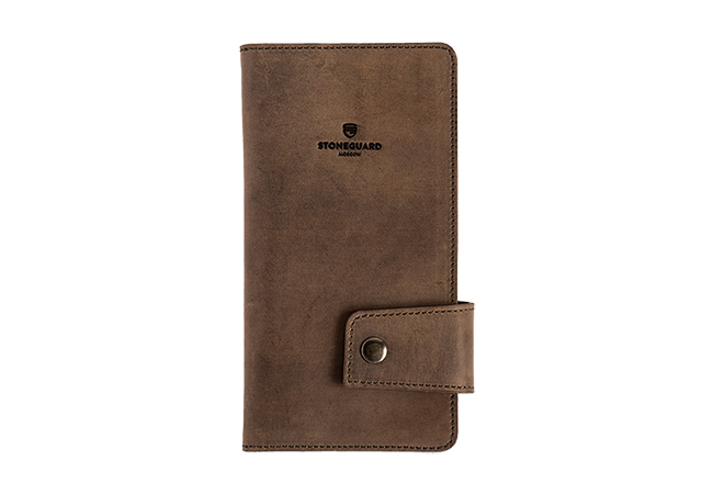 Leather Wallet | 321 | Rust