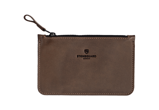 Leather Wallet | 331 | Rust